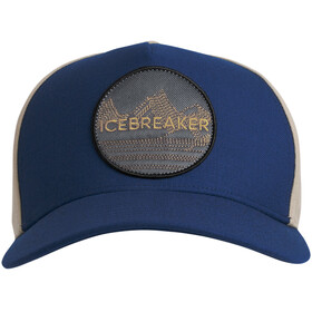 Icebreaker Graphic Gorra, estate blue
